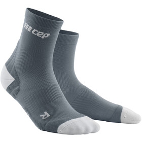 cep Ultralight Korte Sokken Heren, grey/light grey